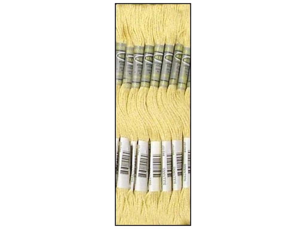 Sullivans Six-Strand Embroidery Floss 8.7 yd. Very Light Old Gold (12 skeins)