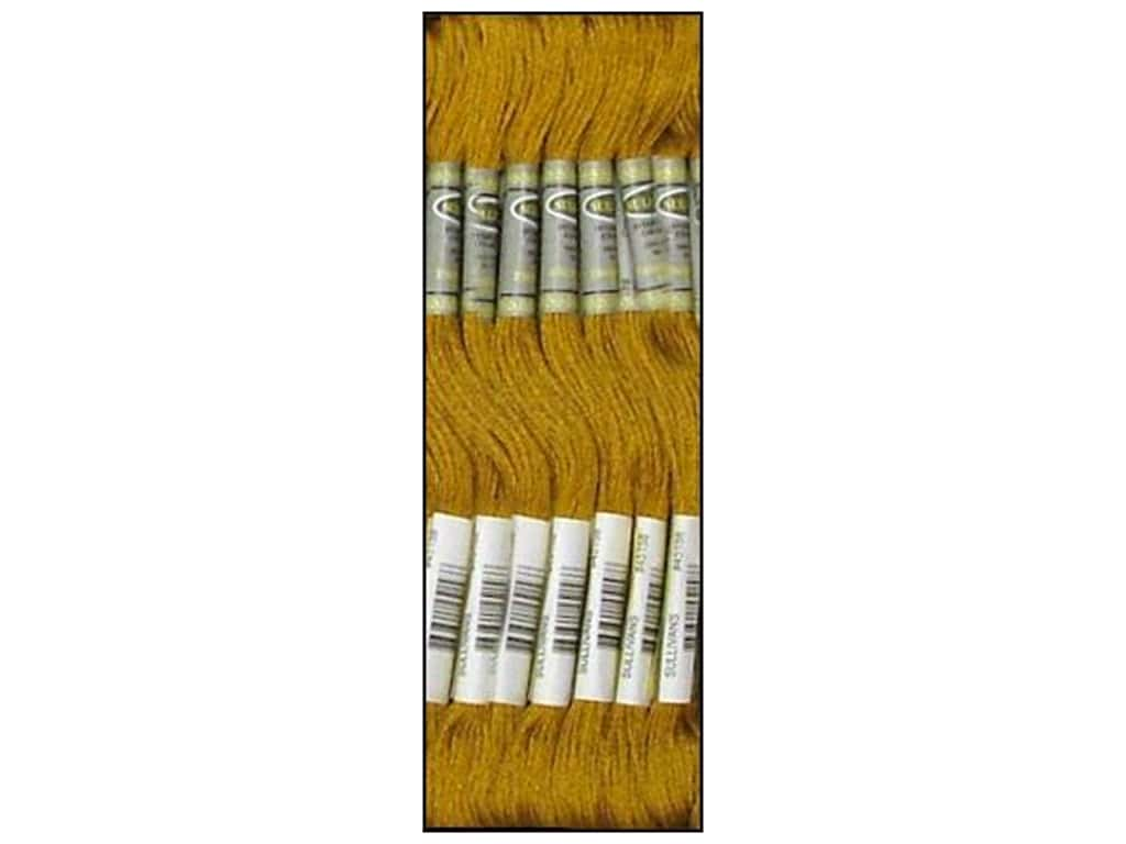 Sullivans Six-Strand Embroidery Floss 8.7 yd. Dark Old Gold (12 skeins)