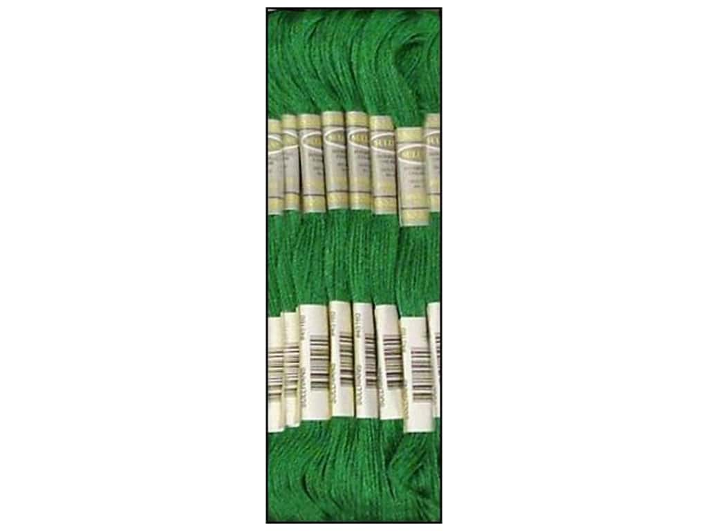 Sullivans Six-Strand Embroidery Floss 8.7 yd. Bright Green (12 skeins)