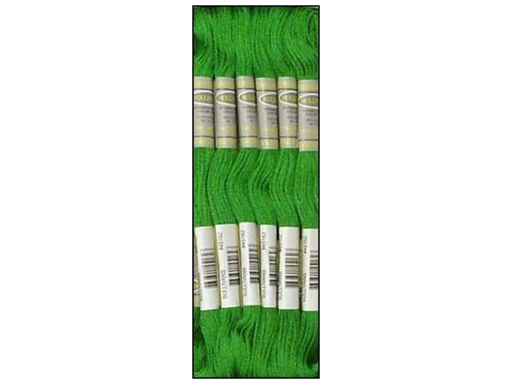 Sullivans Six-Strand Embroidery Floss 8.7 yd. Kelly Green (12 skeins)