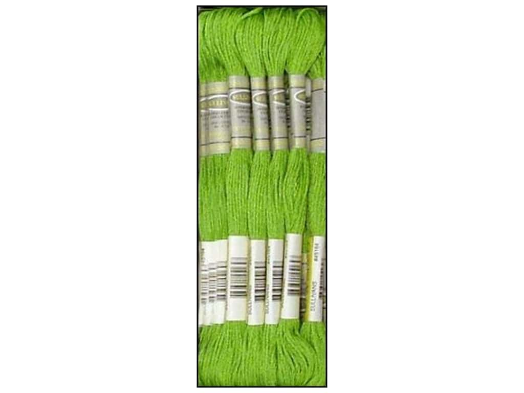 Sullivans Six-Strand Embroidery Floss 8.7 yd. Bright Chartreuse (12 skeins)