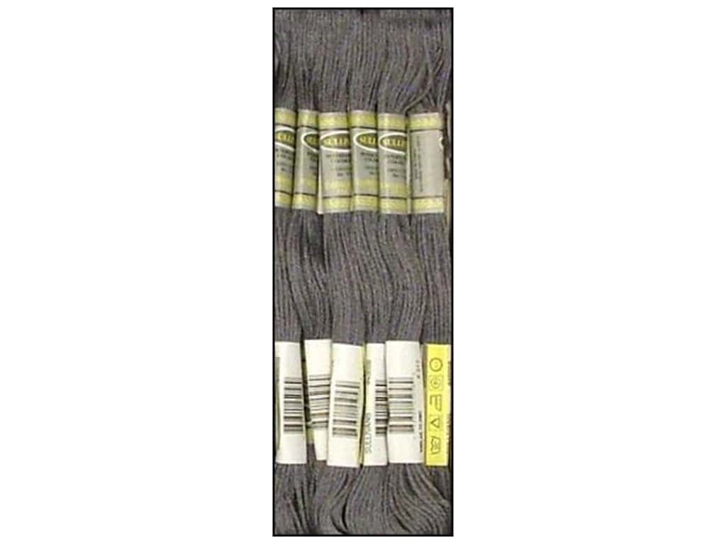 Sullivans Six-Strand Embroidery Floss 8.7 yd. Pewter Grey (12 skeins)