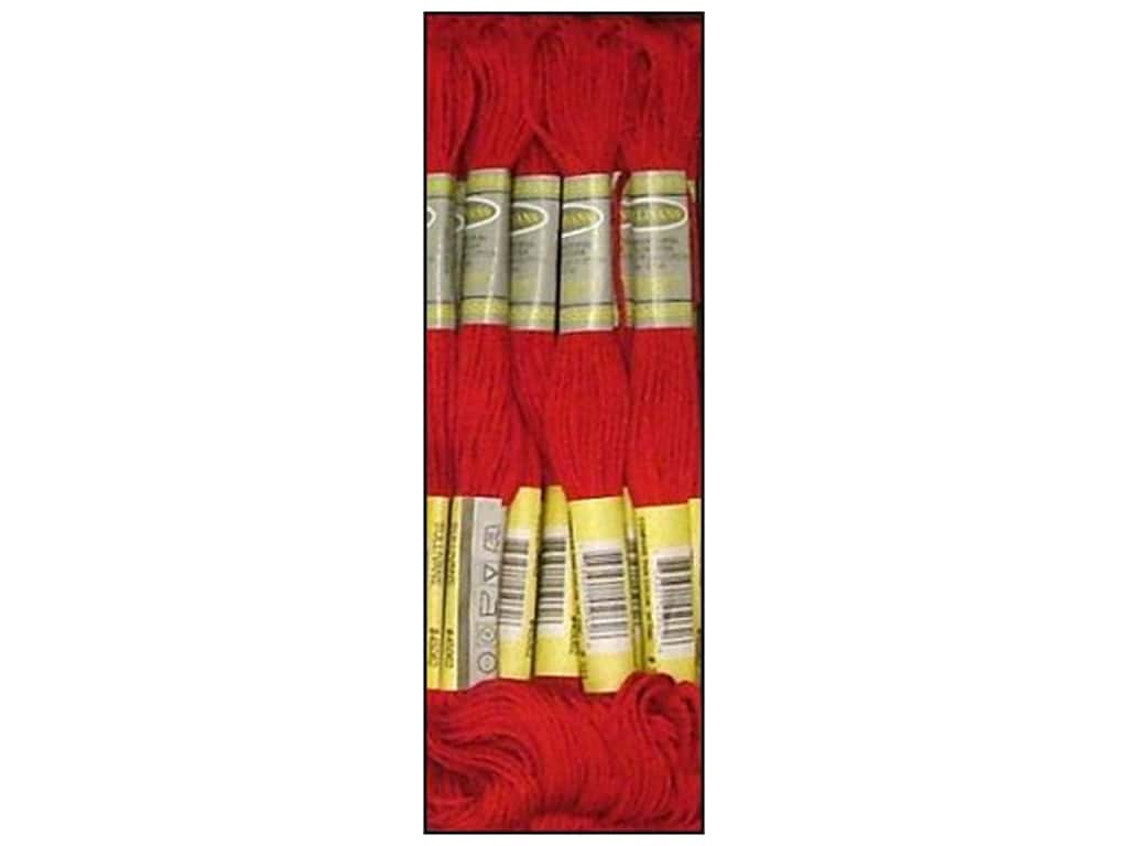 Sullivans Six-Strand Embroidery Floss 8.7 yd. Red (12 skeins)