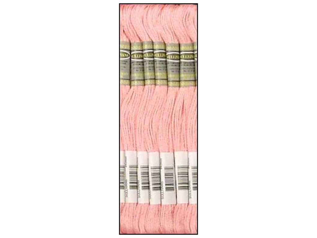 Sullivans Six-Strand Embroidery Floss 8.7 yd. Very Light Dusty Rose (12 skeins)