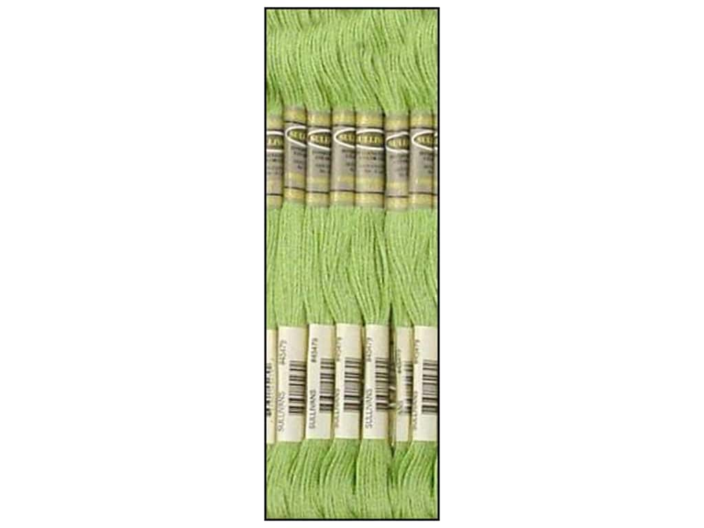 Sullivans Six-Strand Embroidery Floss 8.7 yd. Light Forest Green (12 skeins)