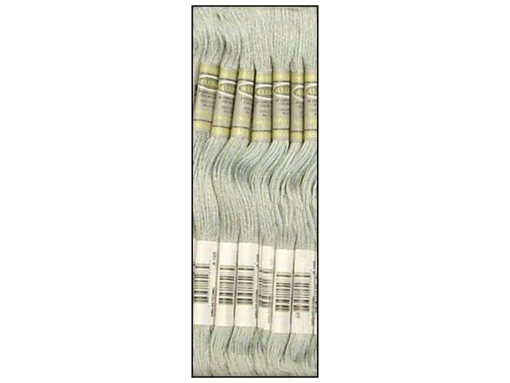 Sullivans Six-Strand Embroidery Floss 8.7 yd. Very Light Pewter (12 skeins)