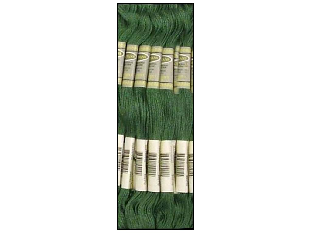 Sullivans Six-Strand Embroidery Floss 8.7 yd. Dark Blue Green (12 skeins)