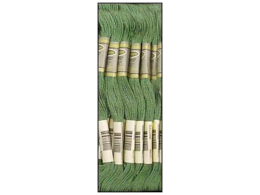 Sullivans Six-Strand Embroidery Floss 8.7 yd. Blue Green (12 skeins)