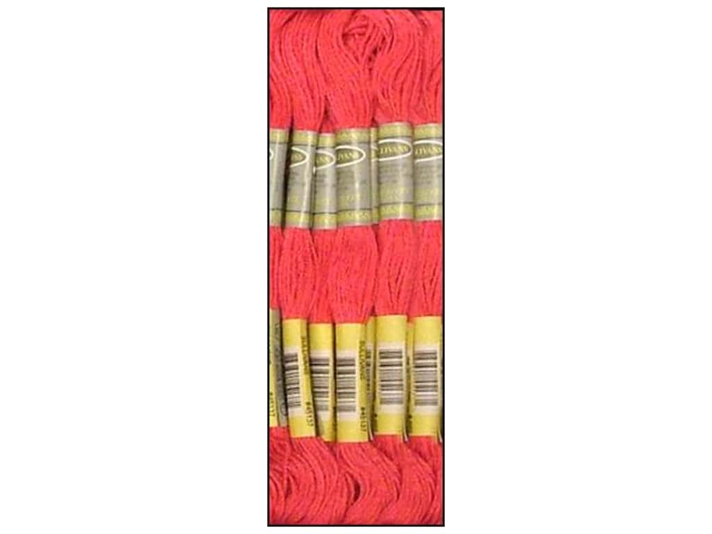 Sullivans Six-Strand Embroidery Floss 8.7 yd. Medium Cranberry (12 skeins)