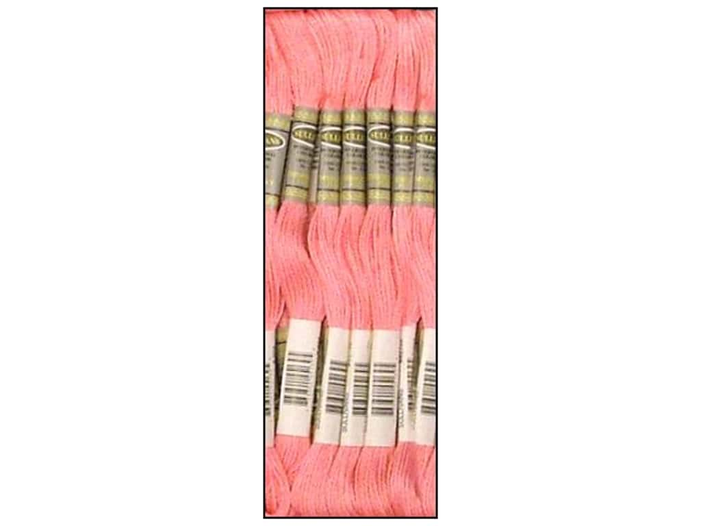 Sullivans Six-Strand Embroidery Floss 8.7 yd. Light Cranberry (12 skeins)
