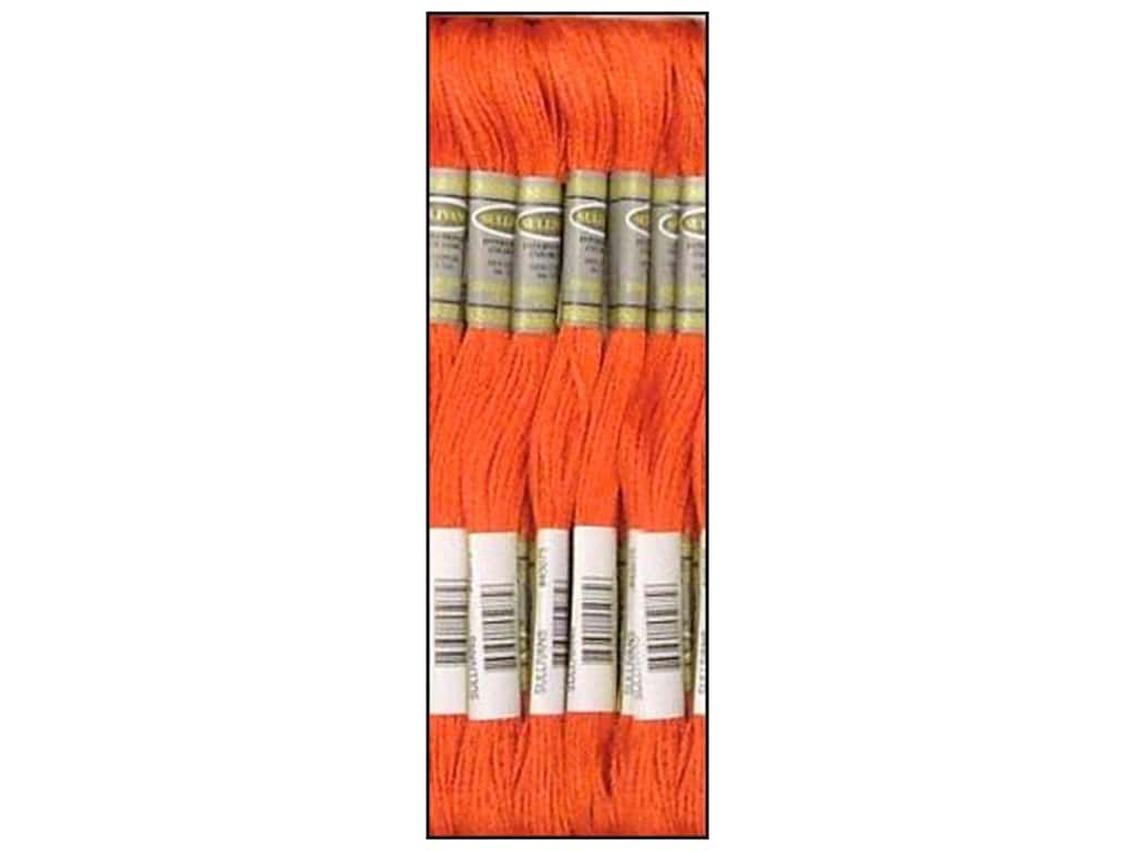 Sullivans Six-Strand Embroidery Floss 8.7 yd. Coral (12 skeins)