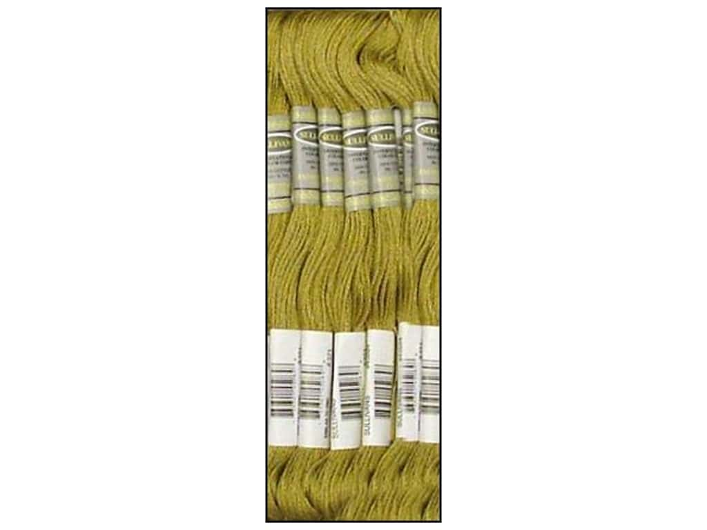 Sullivans Six-Strand Embroidery Floss 8.7 yd. Mustard (12 skeins)
