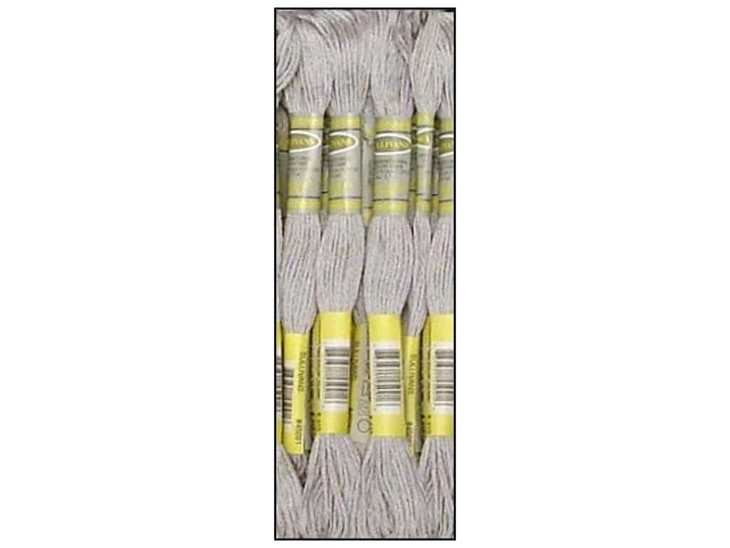 Sullivans Six-Strand Embroidery Floss 8.7 yd. Pearl Grey (12 skeins)