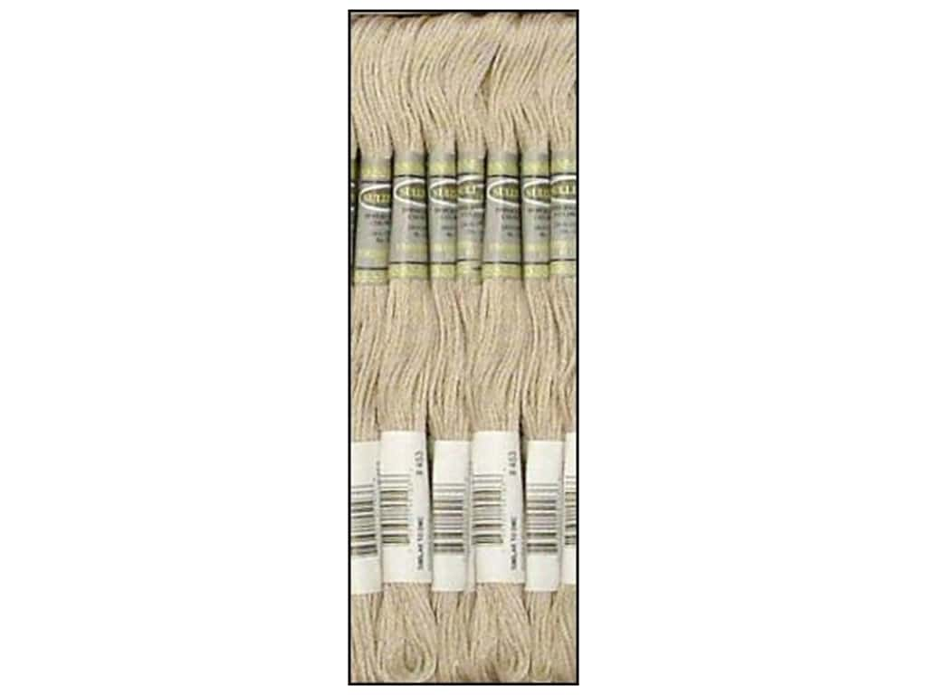 Sullivans Six-Strand Embroidery Floss 8.7 yd. Light Shell Grey (12 skeins)