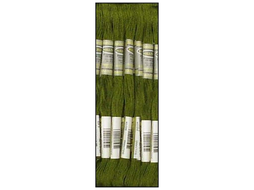 Sullivans Six-Strand Embroidery Floss 8.7 yd. Avocado Green (12 skeins)