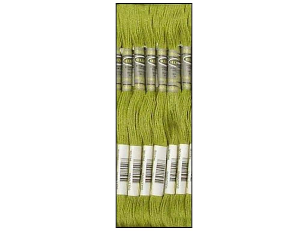 Sullivans Six-Strand Embroidery Floss - Very Light Avocado Green 8.7 yd. (12 skeins)