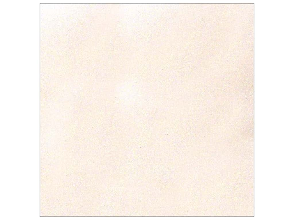 American Crafts 12 x 12 in. Cardstock Glitter White (15 sheets)
