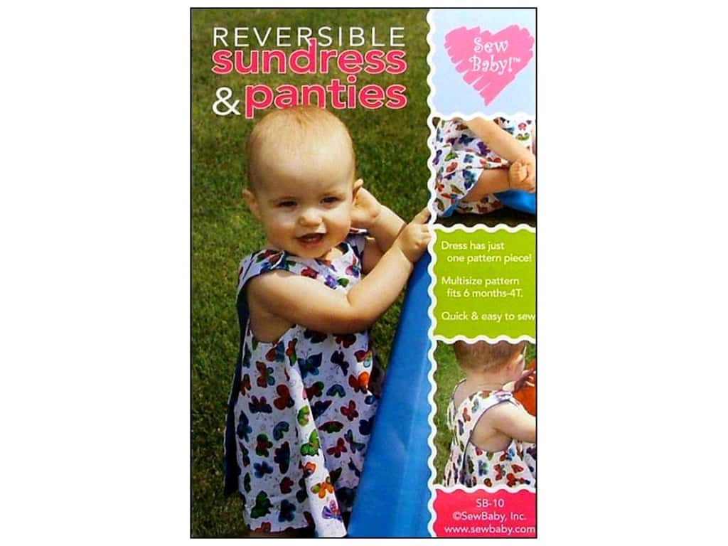 Sew Baby Reversible Sundress and Panties Pattern
