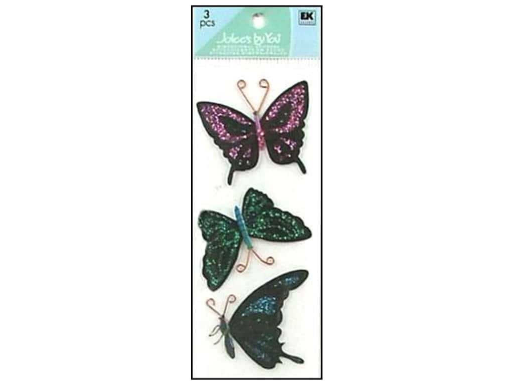 Jolee's By You Stickers Slims Butterfly