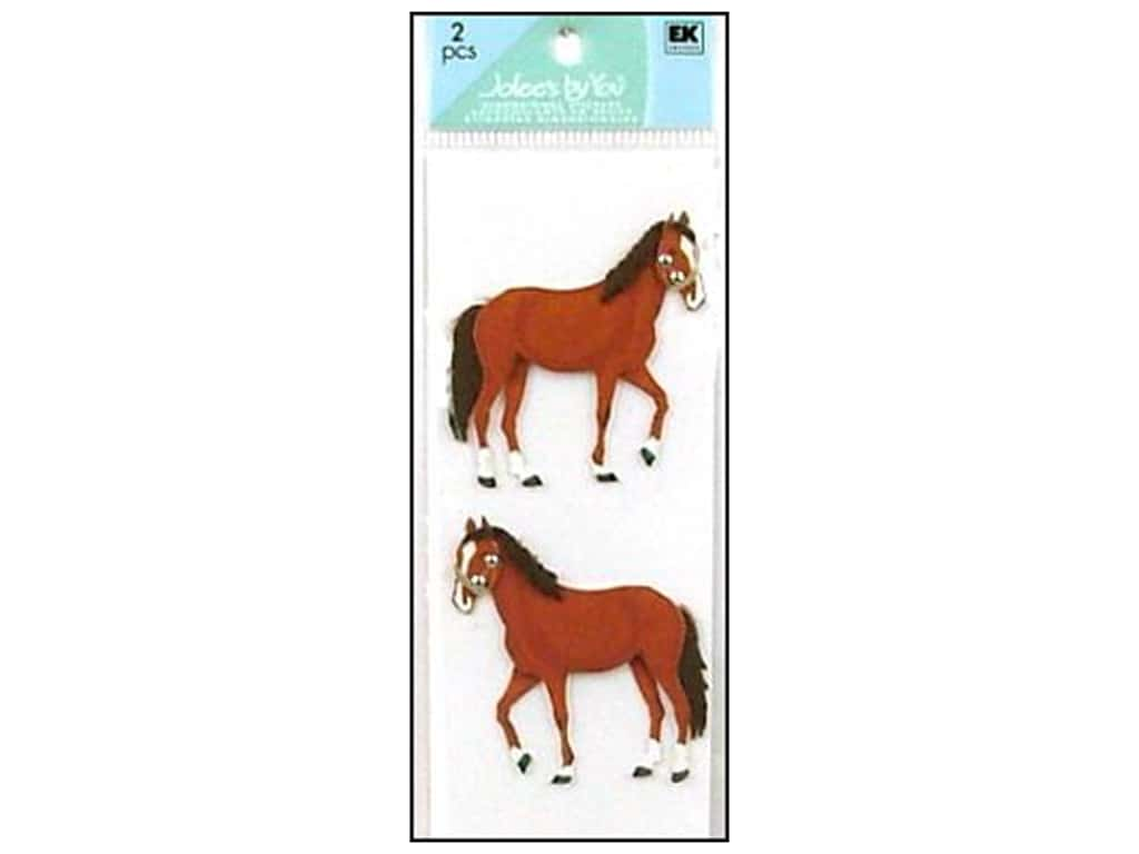 Jolee's By You Stickers Slims Horses
