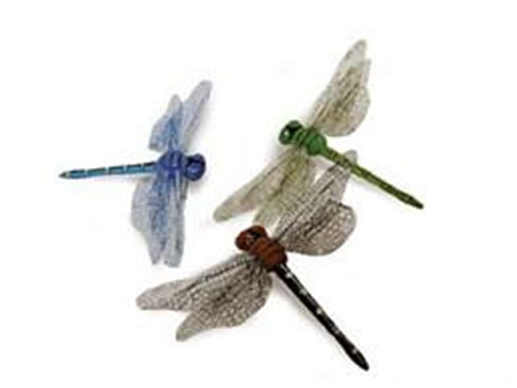 Midwest Design Foam Dragonfly 3 1/2 in. Assorted 2 pc.