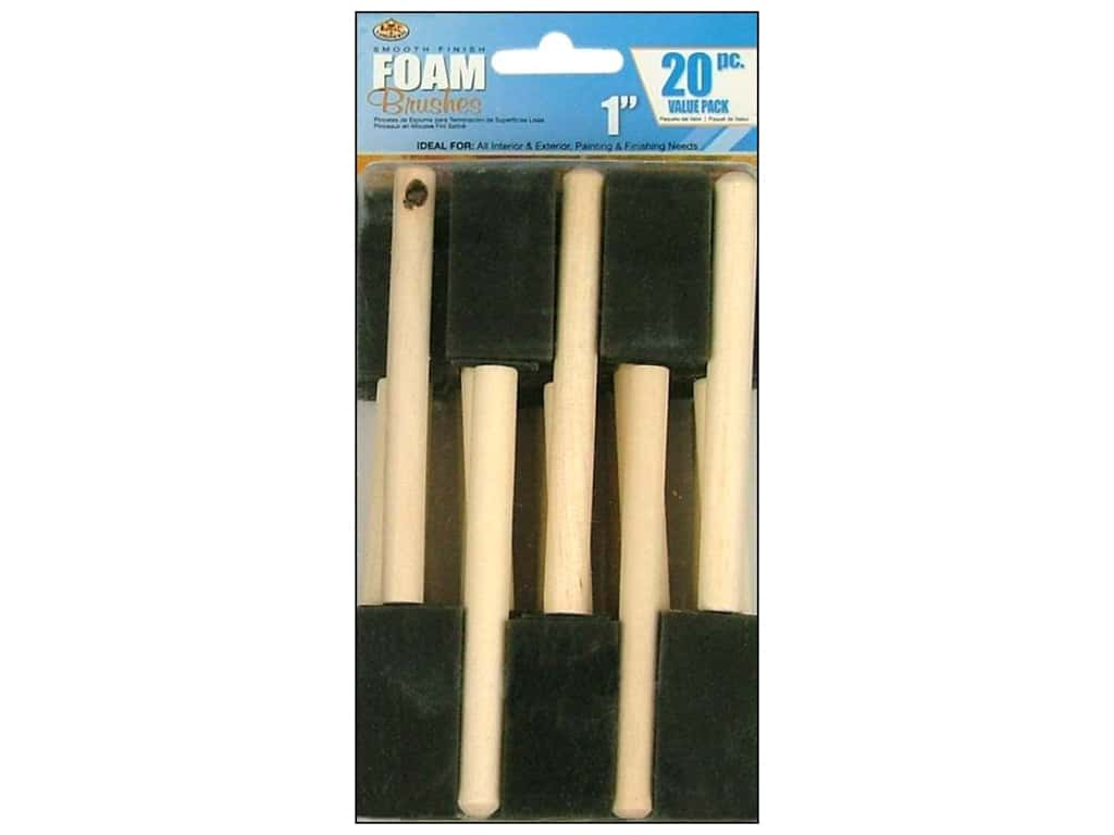Royal Foam Brush 1 in. 20 pc.