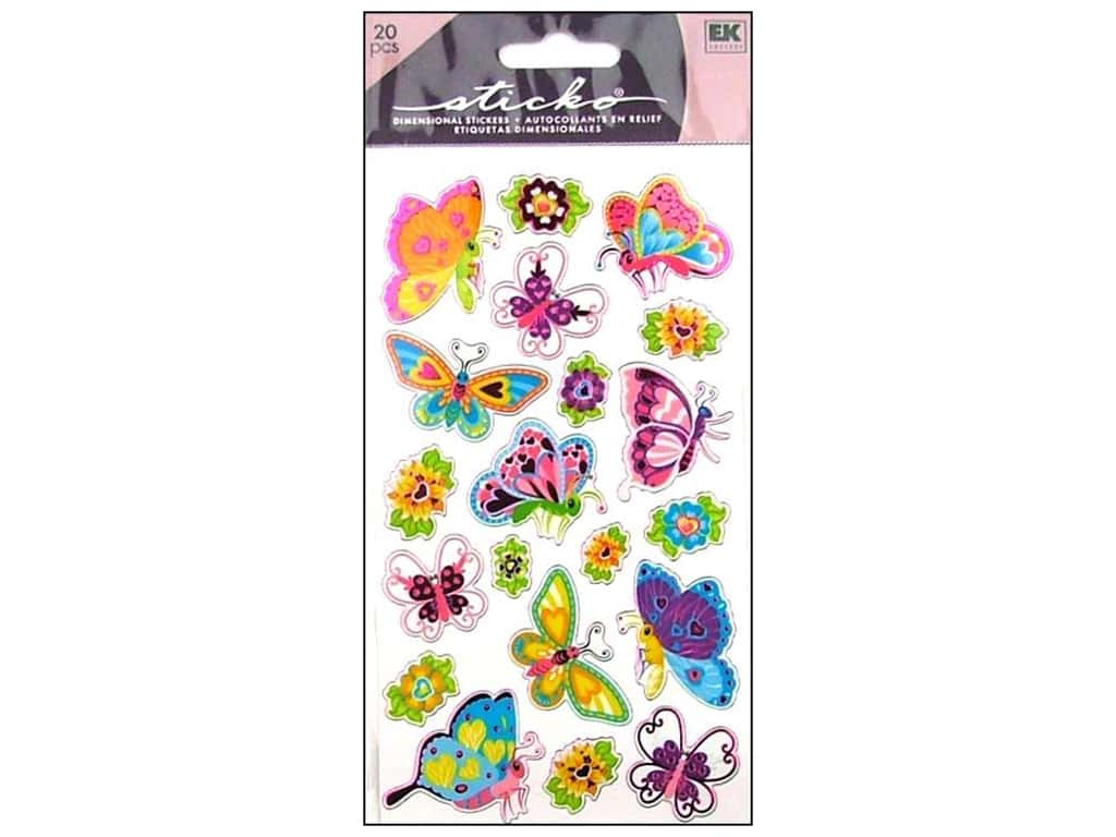 Sticko Stickers - Magical Butterflies