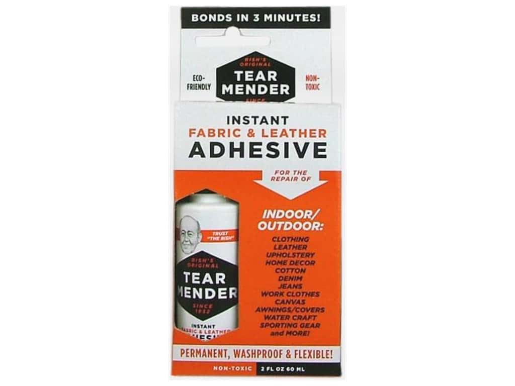 Val-A Tear Mender Instant Fabric & Leather Adhesive 2 oz.