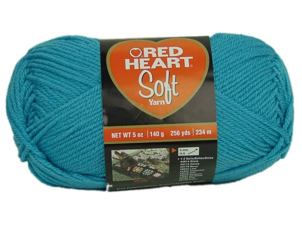 Red Heart Soft Yarn 256 yd. #2515 Turquoise
