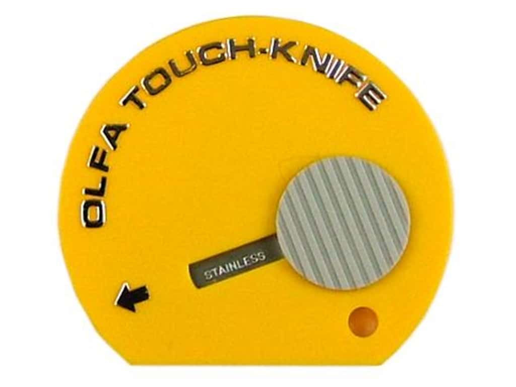 Olfa Touch Knife Yellow