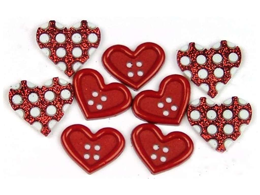 Jesse James Dress It Up Embellishments Valentine Collection Gift Of Love