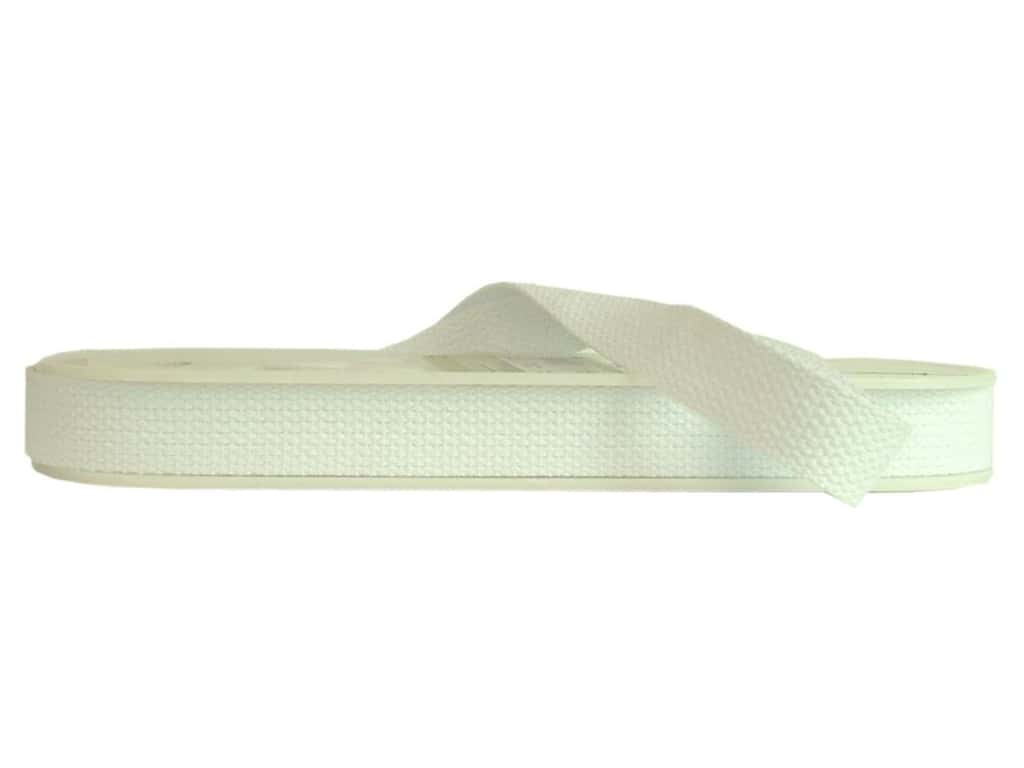 Wrights Cotton Webbing 1 in. x 10 yd. White (10 yards)