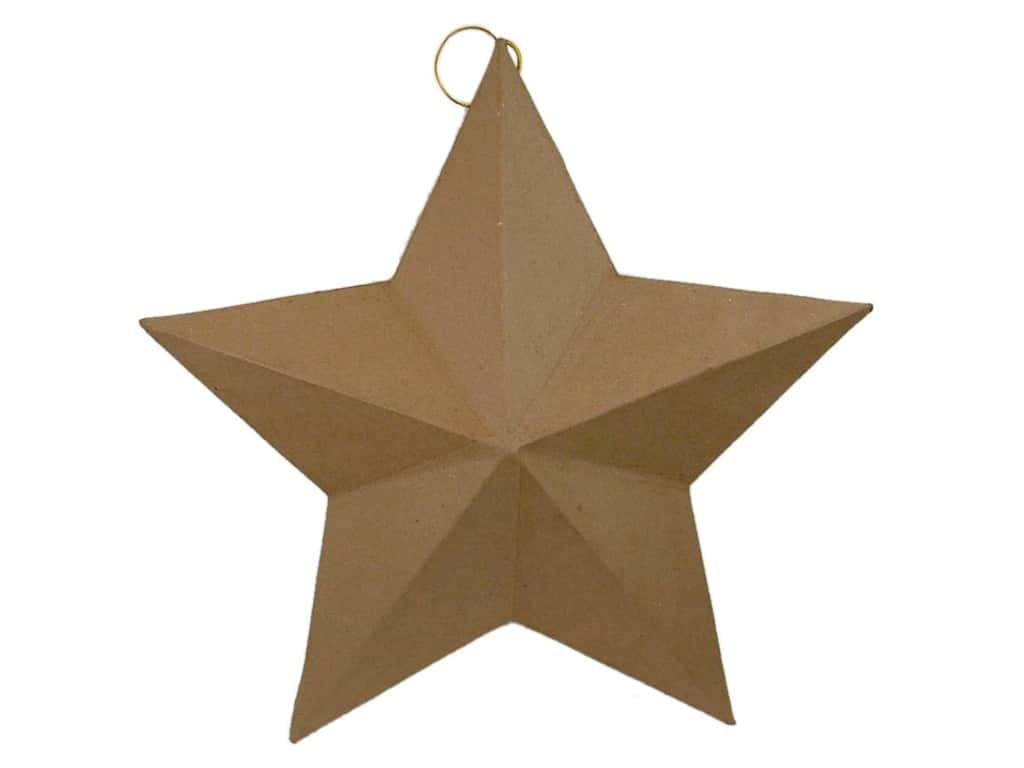 PA Paper Mache Star Flat Back Extra Large 18 in.