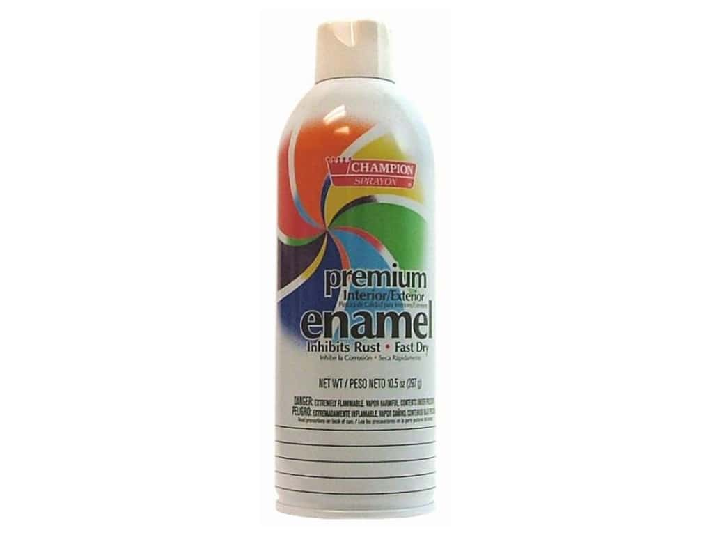 Chase Champion Premium Enamel Spray Paint 10.5 oz.Gloss White