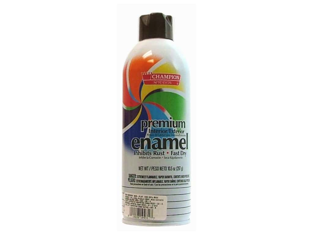 Chase Champion Premium Enamel Spray Paint 10.5 oz. Gloss Rich Brown