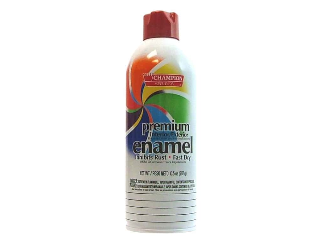 Chase Premium Enamel Spray Paint - Bright Red 10.5 oz.