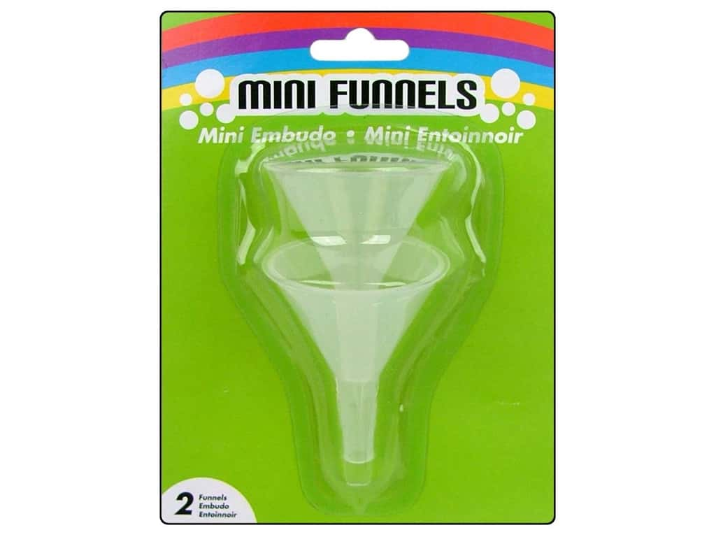 Darice Mini Funnels 1 1/2 in. 2 pc.