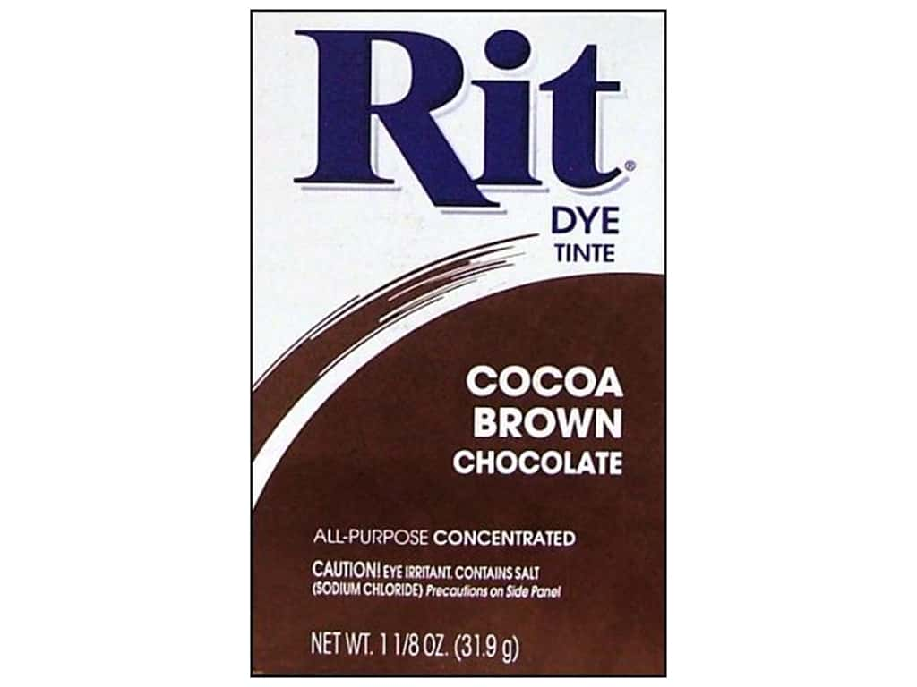 Rit Dye Powder 1 1/8 oz. Cocoa Brown