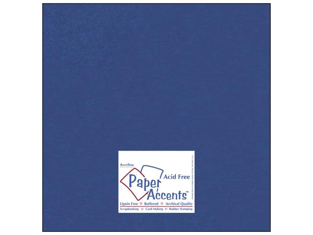 Paper Accents Cardstock 12 x 12 in. #837 Silk Blue Topaz (25 sheets)