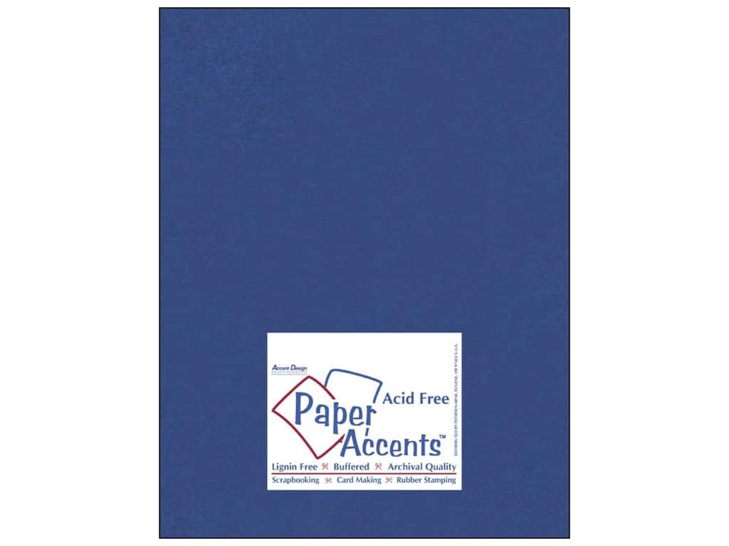 Paper Accents Cardstock 8 1/2 x 11 in. #837 Silk Blue Topaz (25 sheets)