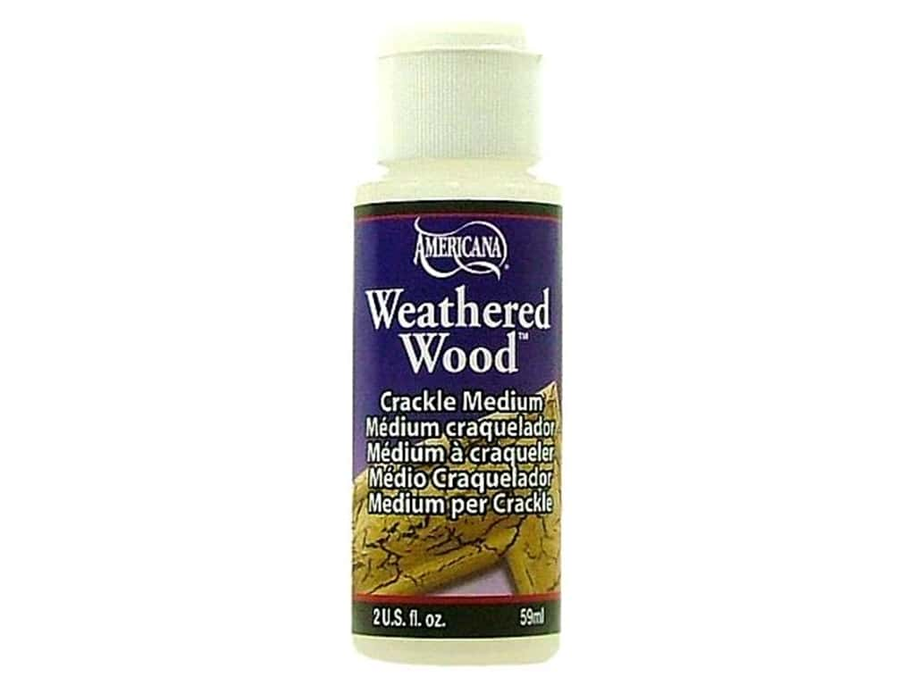 DecoArt Weathered Wood Crackle Medium 2 oz.