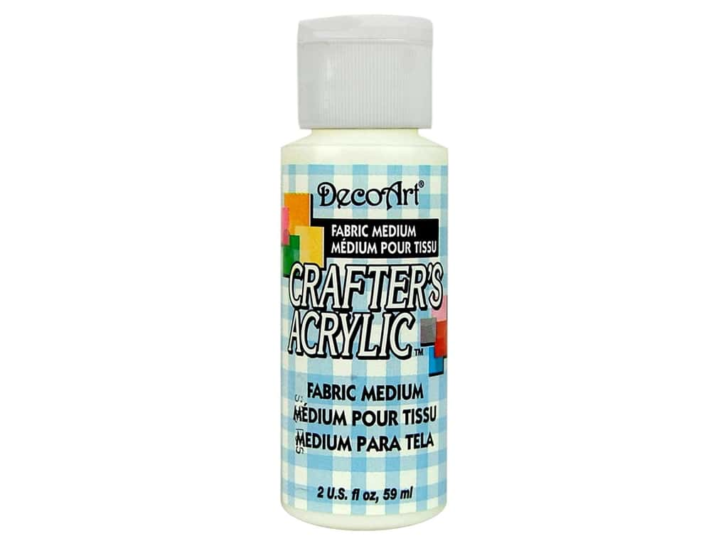 DecoArt Crafter's Acrylic Paint 2oz Fabric Medium