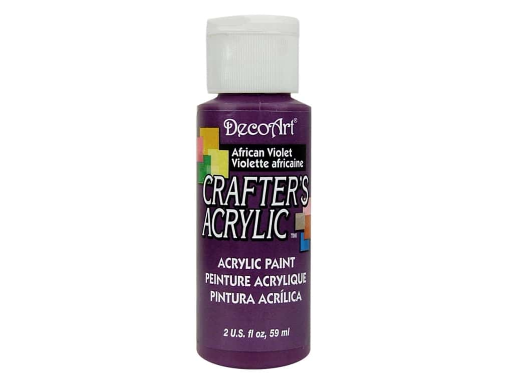 DecoArt Crafter's Acrylic Paint - #74 African Violet 2 oz.