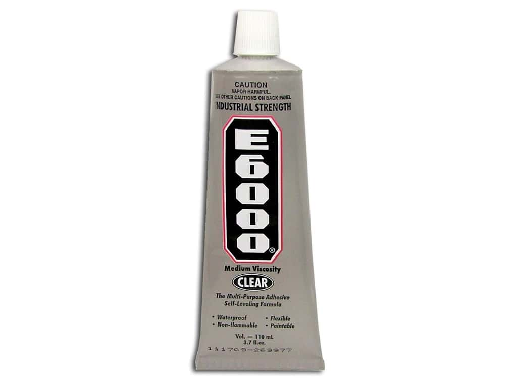Eclectic E6000 Adhesive 3.7 oz. Clear