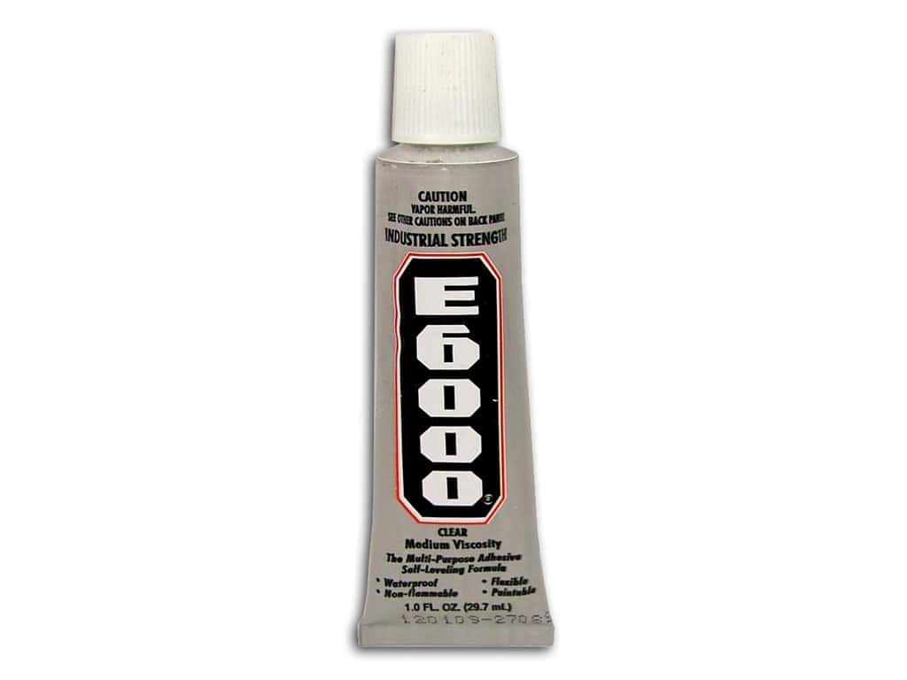 Eclectic E6000 Adhesive 1 oz. Clear