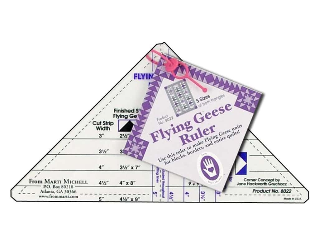 Marti Michell Flying Geese Ruler