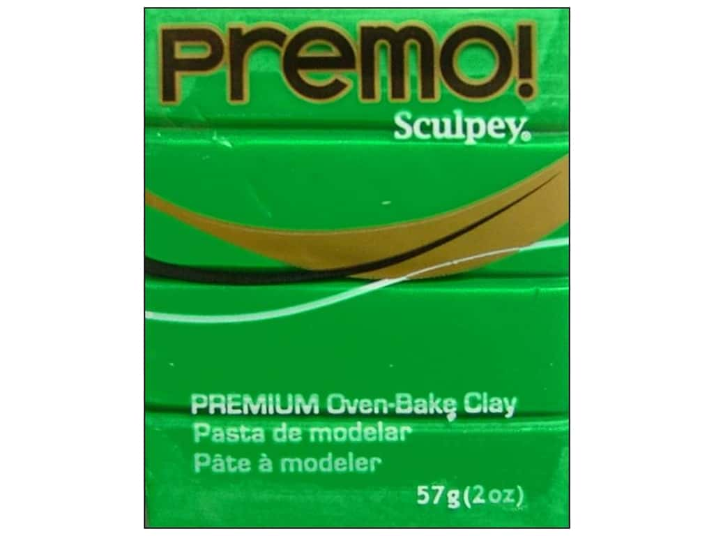 Premo! Sculpey Polymer Clay 2 oz. Green