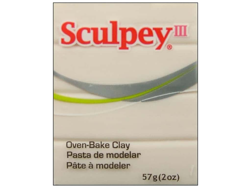 Sculpey III Clay 2 oz. Translucent