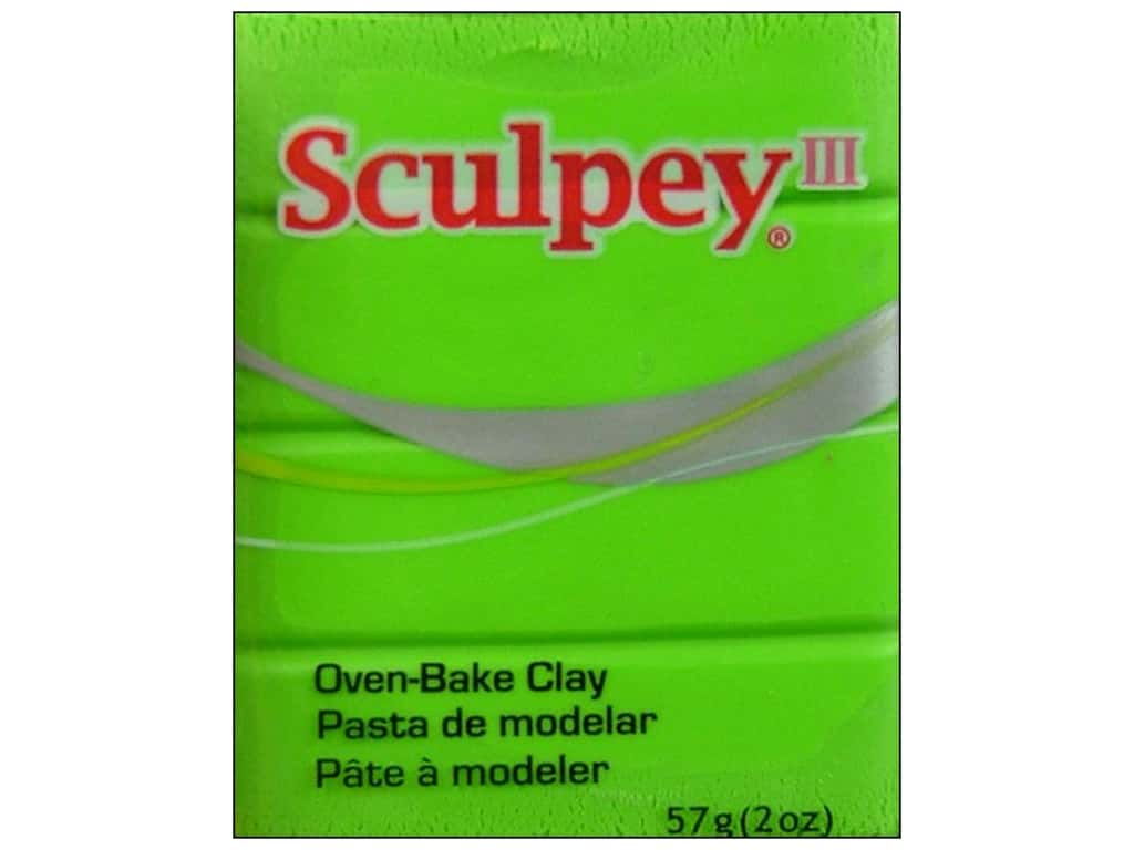 Sculpey III Clay 2 oz. Granny Smith