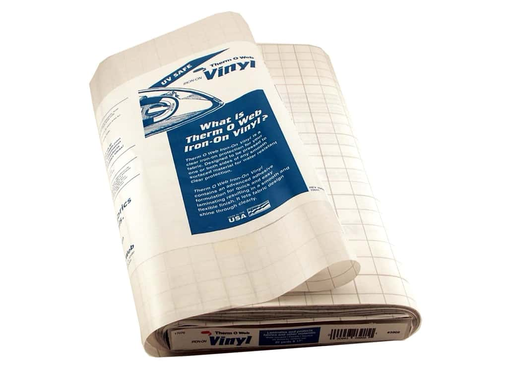 HeatnBond Iron-on Vinyl 17 in. x 20 yd. Gloss (20 yards)